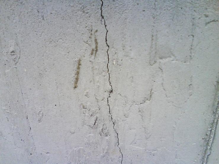 Foundation-cracks